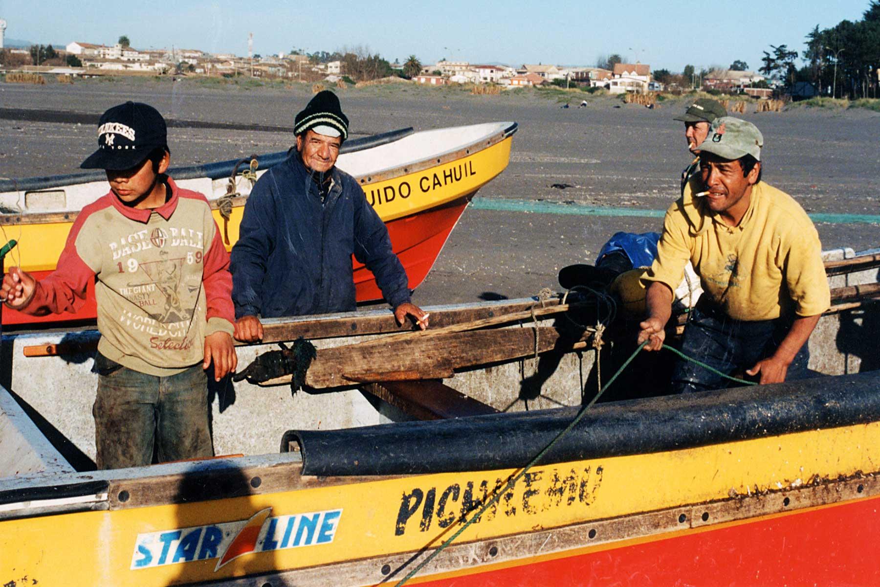 Fishers at Pichilemu   Chile   Steven Andrew Martin   Travel Journal   Dr Steven Martin