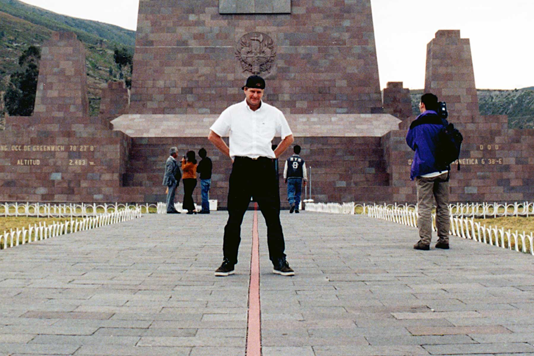 Quito Ecuador   Equator   Steven Andrew Martin   Travel Journal   Dr Steven Martin