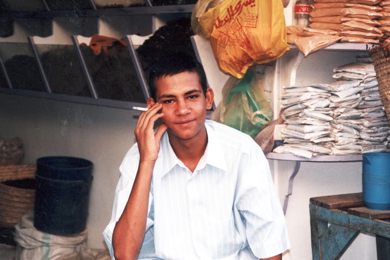 Shopkeeper near Aswan | Egypt | Dr Steven A Martin | Learning Adventure | International Education Online