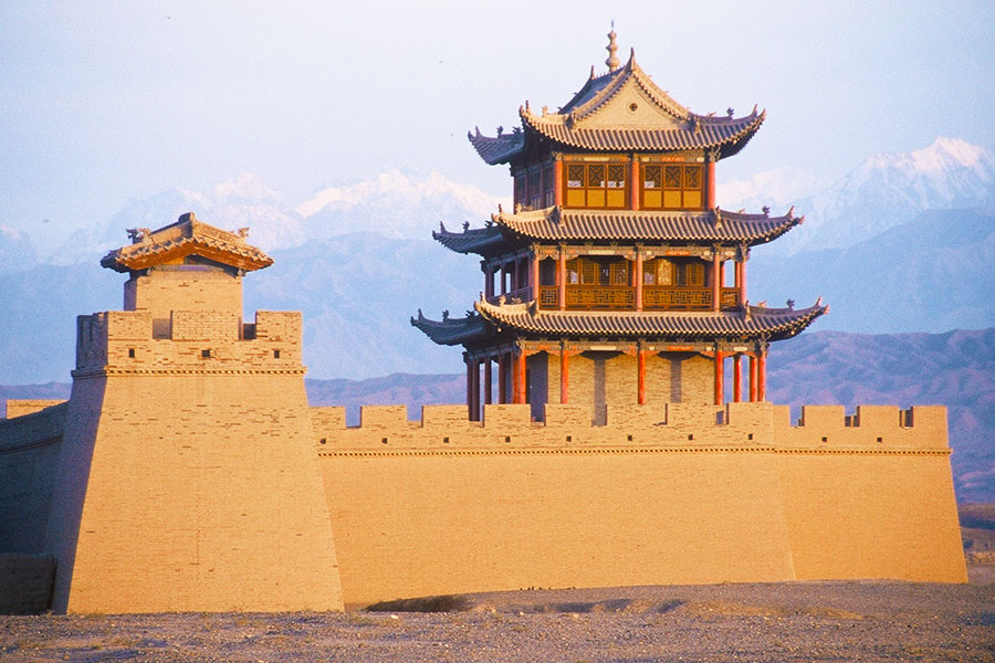 Jiayuguan Fort - Great Wall of China - Steven Andrew Martin