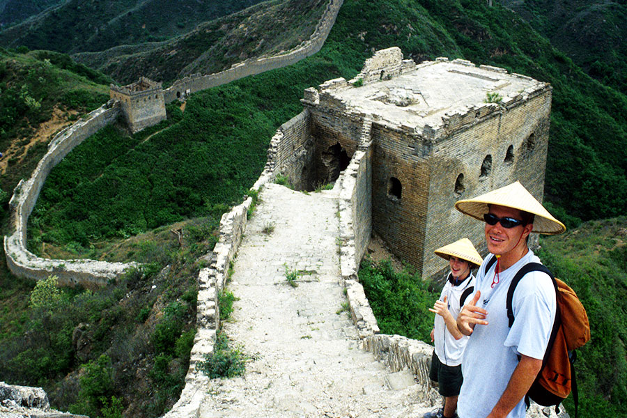 Skateboarding on the Great Wall of China - Steven Martin - Teaching and Research - Eastern Civilization Course