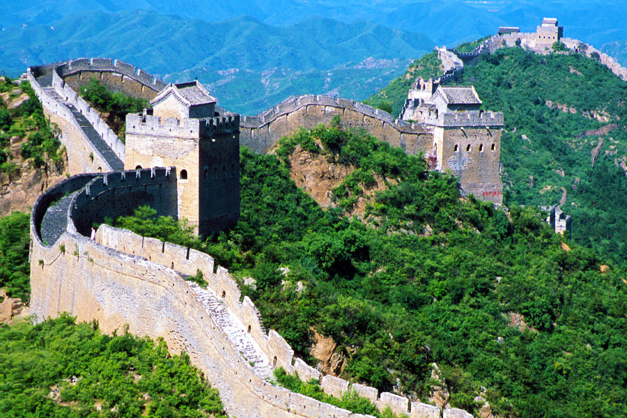 Eastern Civilization - Jinshanling Great Wall - Dr Steven Martin - Study Abroad China