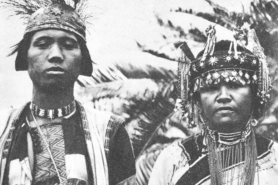 1932 Laipunuk Bunun - Rare Aboriginal Photo - Steven A Martin Research Taiwan