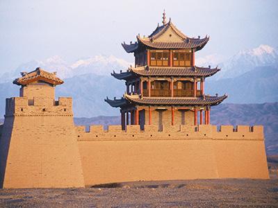 Jiayuguan Fort - Silk Road Photo Journal - Steven Andrew Martin