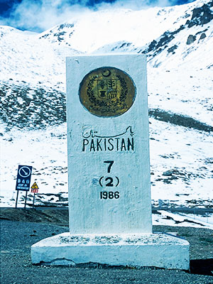 Pakistan Photo Journal - Steven Andrew Martin - China-Pakistan border crossing - Khunjerab Pass