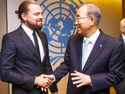 Leonardo DiCaprio UN - Environmental Studies - Dr Steven Andrew Martin