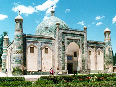 Aba Khoja Mausoleum 1640 - Silk Road China - Steven Andrew Martin