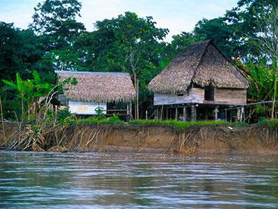 Amazon River House - Photo Journal - Dr. Steven Andrew Martin - Environmental Studies