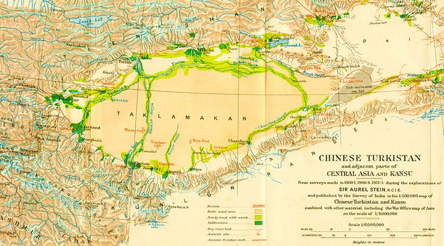Aurel Stein Silk Road - Dr Steven Andrew Martin - Eastern Civilization