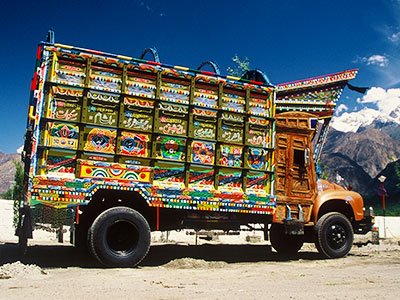 Pakistan Photo Journal - Steven Andrew Martin - Nissan truck