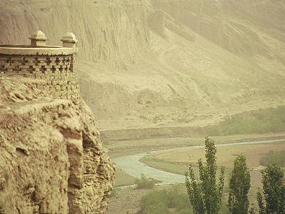 Bezeklik Thousand Buddha Caves - China Silk Road - Steven Andrew Martin
