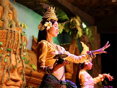 Southeast Asian Civilization - Steven Andrew Martin - Apsara Dancer Siem Reap Cambodia