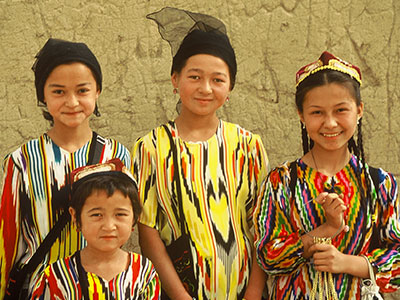 Eastern Civilization - Steven Andrew Martin - Ethnic Groups in East Asia - Uyghur of Xinjiang autonomous region, China