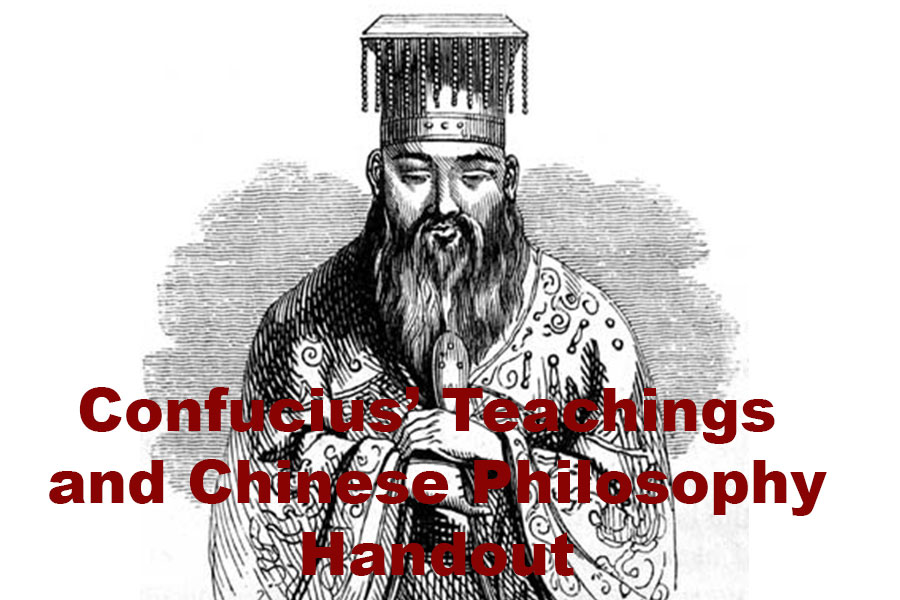 Confucius Chinese Philosophy - Steven Andrew Martin - Handout