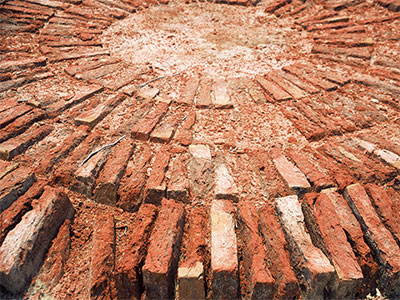 Harappa bricks - Indus River Valley Civilization - Steven Andrew Martin - Pakistan photo journal