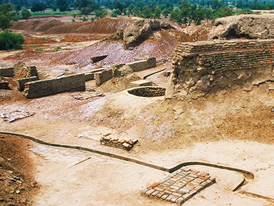 Harappa Archaeological Site - Indus River Valley Civilization - Steven Andrew Martin - Pakistan Photo Journal