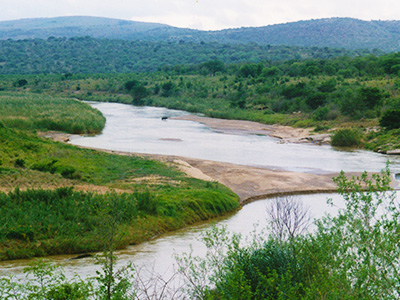 Umfolozi River - Hluhluwe-Umfolozi Game Reserve - Steven Andrew Martin - South Africa Photo Journal