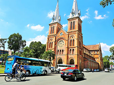 Ho Chi Minh City - Notre-Dame Cathedral Basilica of Saigon - Steven Andrew Martin