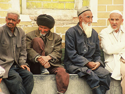 Islamic Culture at the Id Kah Mosque - China Silk Road - Steven Andrew Martin