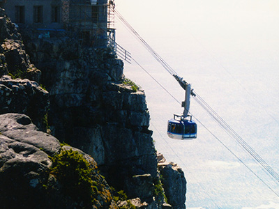 Cable Car to Table Mountain - Cape Town - Steven Andrew Martin