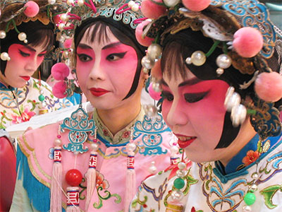 Chinese Opera - Taipei, Taiwan - Education Abroad - Dr Steven Andrew Martin