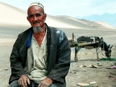 Taklamakan Desert - Silk Road China - Steven Andrew Martin