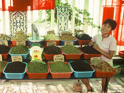 Turpan Raisins - China Silk Road - Steven Andrew Martin