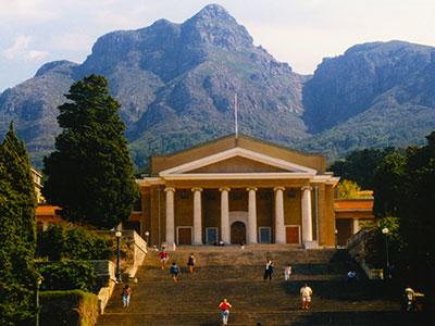 University of Cape Town (UCT) - South Africa - Dr Steven Andrew Martin - School for International Training 1997