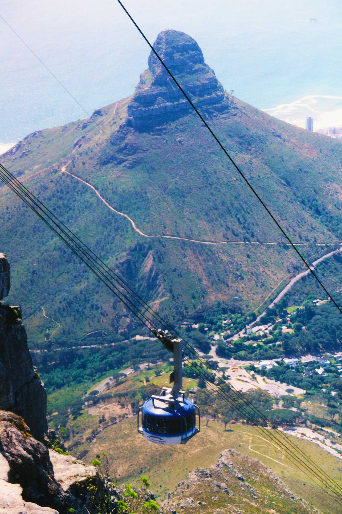 Lion's Head - Cape Town - Cable Car - Table Mountain - Dr Steven Andrew Martin - Study Abroad Journal