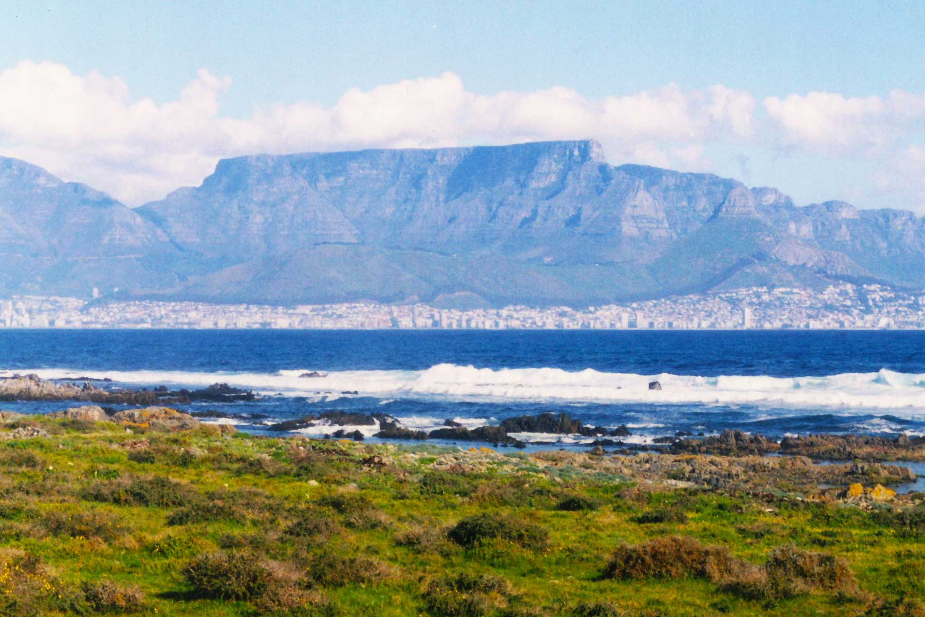 Table Mountain - Robin Island - Cape Town - Steven Andrew Martin PhD - South Africa Photo Journal