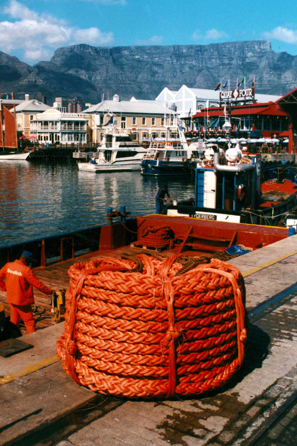 The Cape Town Waterfront - Steven Andrew Martin PhD - South Africa Study Abroad Photo Journal 1997