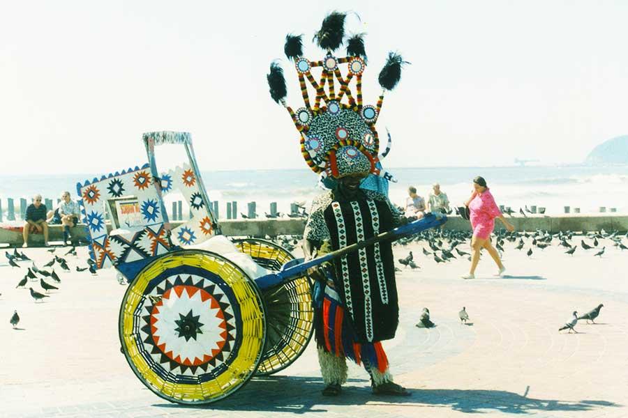 Zulu Rickshaw - Durban - South Africa Study Abroad Journal - Dr Steven Andrew Martin
