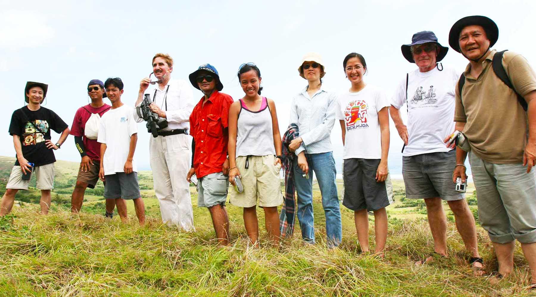 Batanes Islands Photo Journal - Peter Bellwood - Philippines Archaeology Fieldwork Team - Steven Andrew Martin
