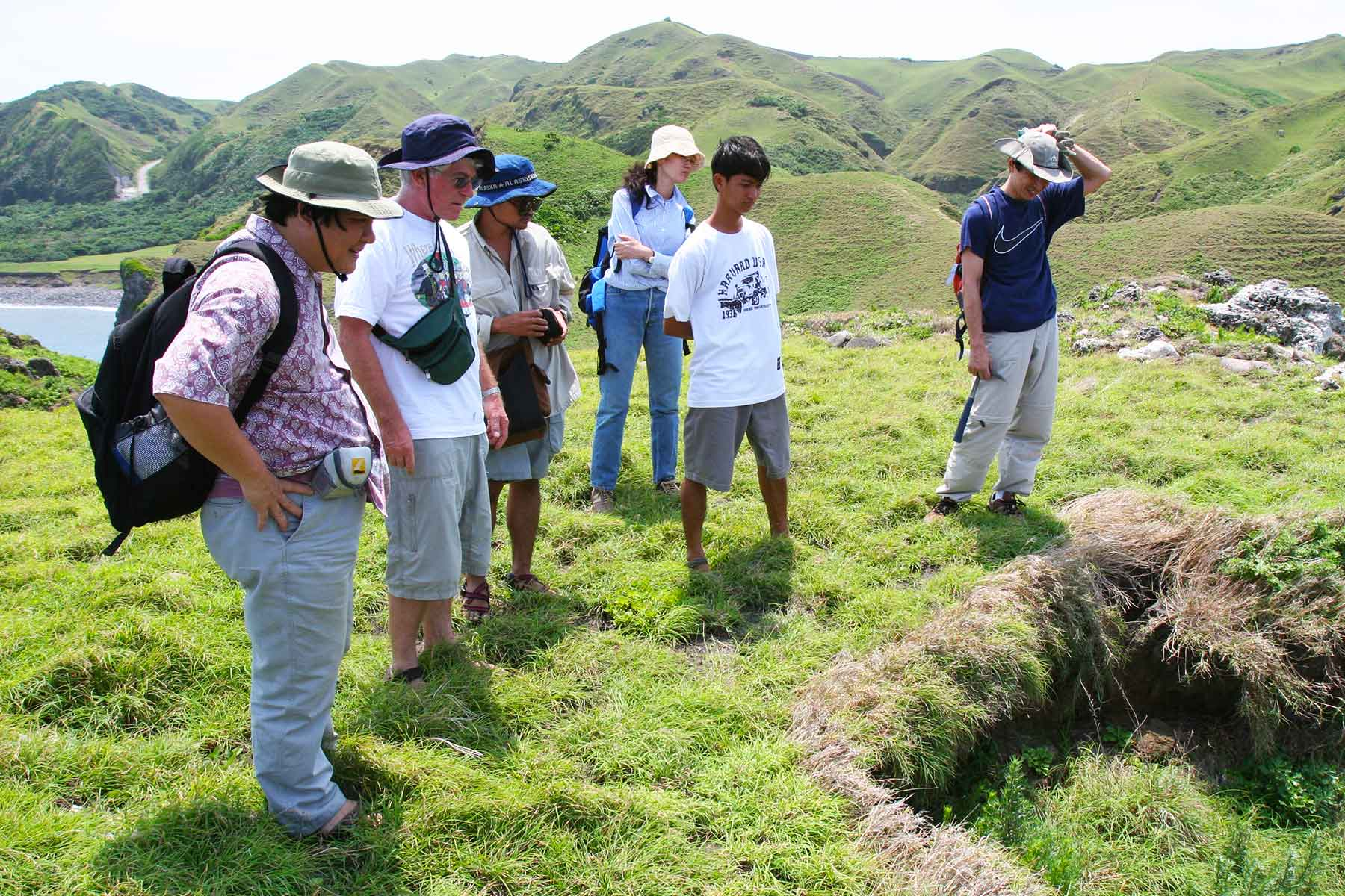 Batanes Islands Photo Journal - Peter Bellwood - Austronesian Archaeology - Exploratory Research - Dr Steven Andrew Martin
