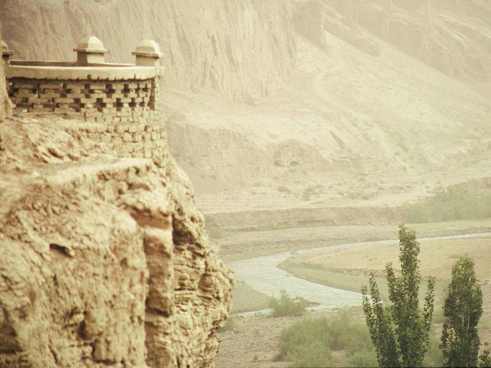 Bezeklik Thousand Buddha Caves - China Silk Road Journal - Dr Steven Andrew Martin - Research