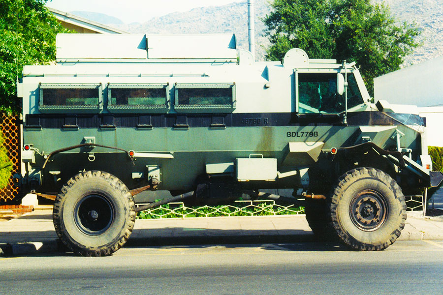 Casspir - Mine Protected Vehicle (MPV) - Soweto, South Africa - Steven Andrew Martin - Photo Journal