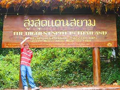 Thai Geography Teacher Dr Steven A Martin | Doi Inthanon, Chiang Mai | Thai Studies Research