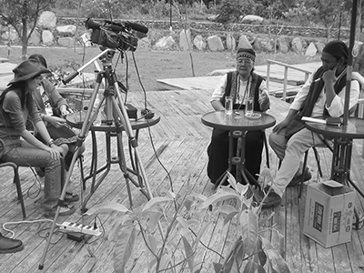 Ethnographic Film Recording in Taidong, Taiwan - Bunun Oral History - Steven Andrew Martin - Taiwan photo journal