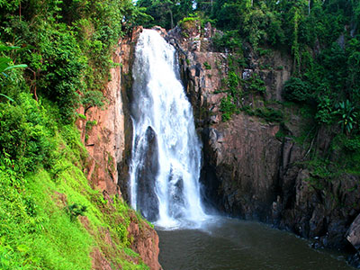 Environmental Studies - Haew Narok Waterfall - Khao Yai National Park Thailand - Steven Andrew Martin