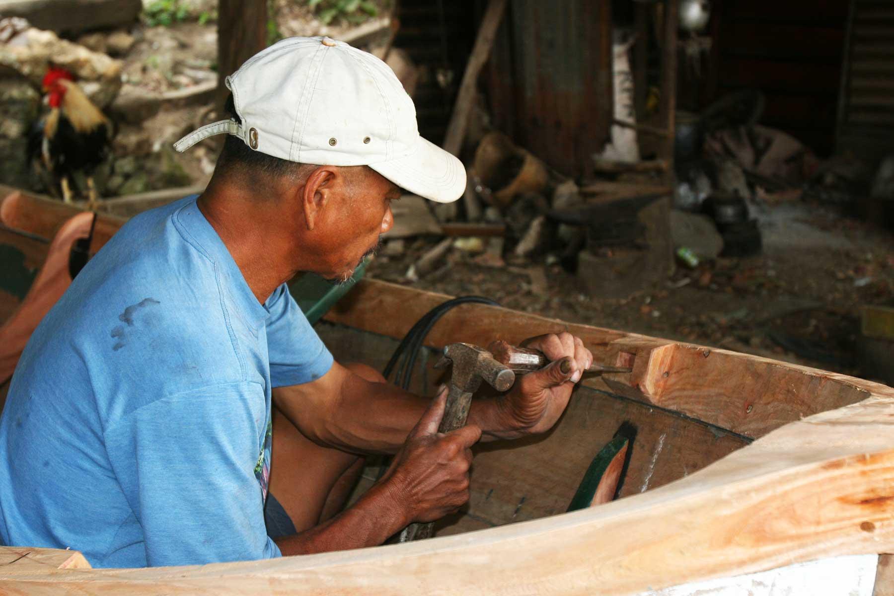 Ivatan Boat Builder - Batan Island - Steven Andrew Martin - Batanes Islands Cultural Atlas