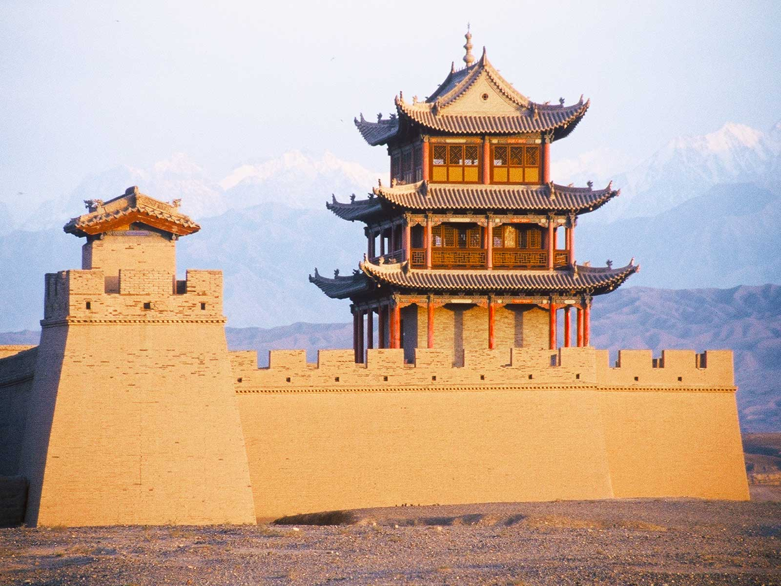 Jiayuguan Fort - Silk Road Photo Journal - Steven Andrew Martin PhD - Eastern Civilization Research Project