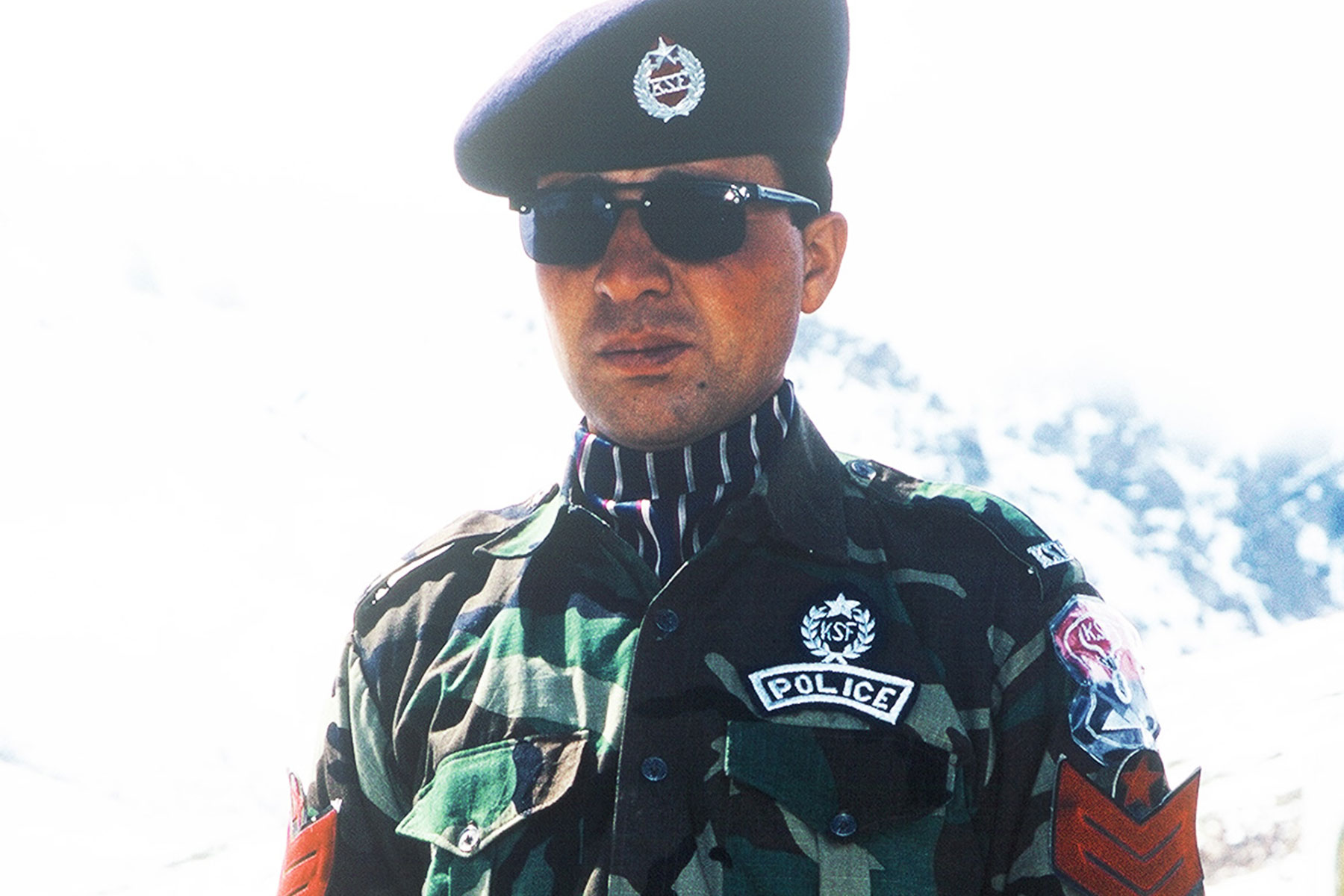 Sino-Pakistani border police - Pakistan Photo Journal - Steven Andrew Martin - Silk Road - Eastern Civilization