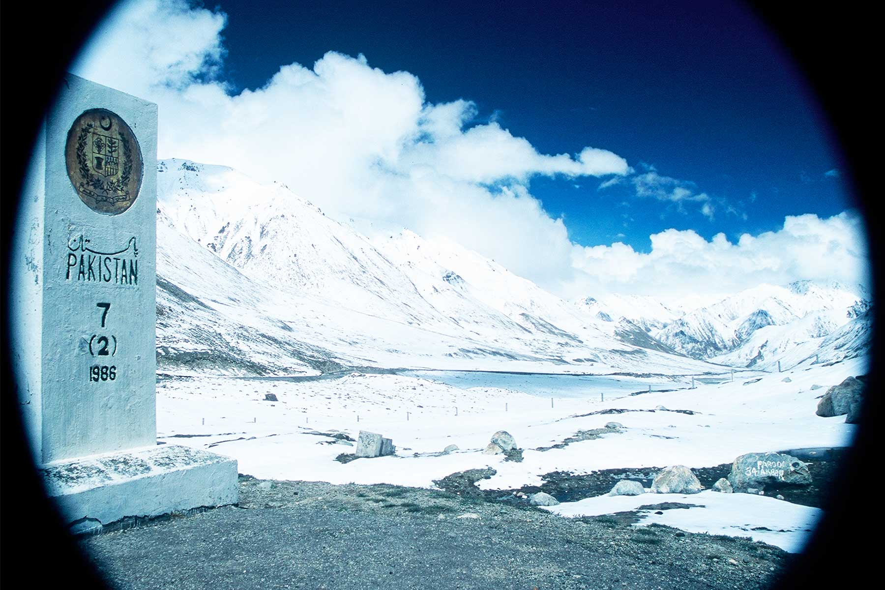 Khunjerab Pass | Sino-Pakistani border crossing | Steven Andrew Martin | Silk Road