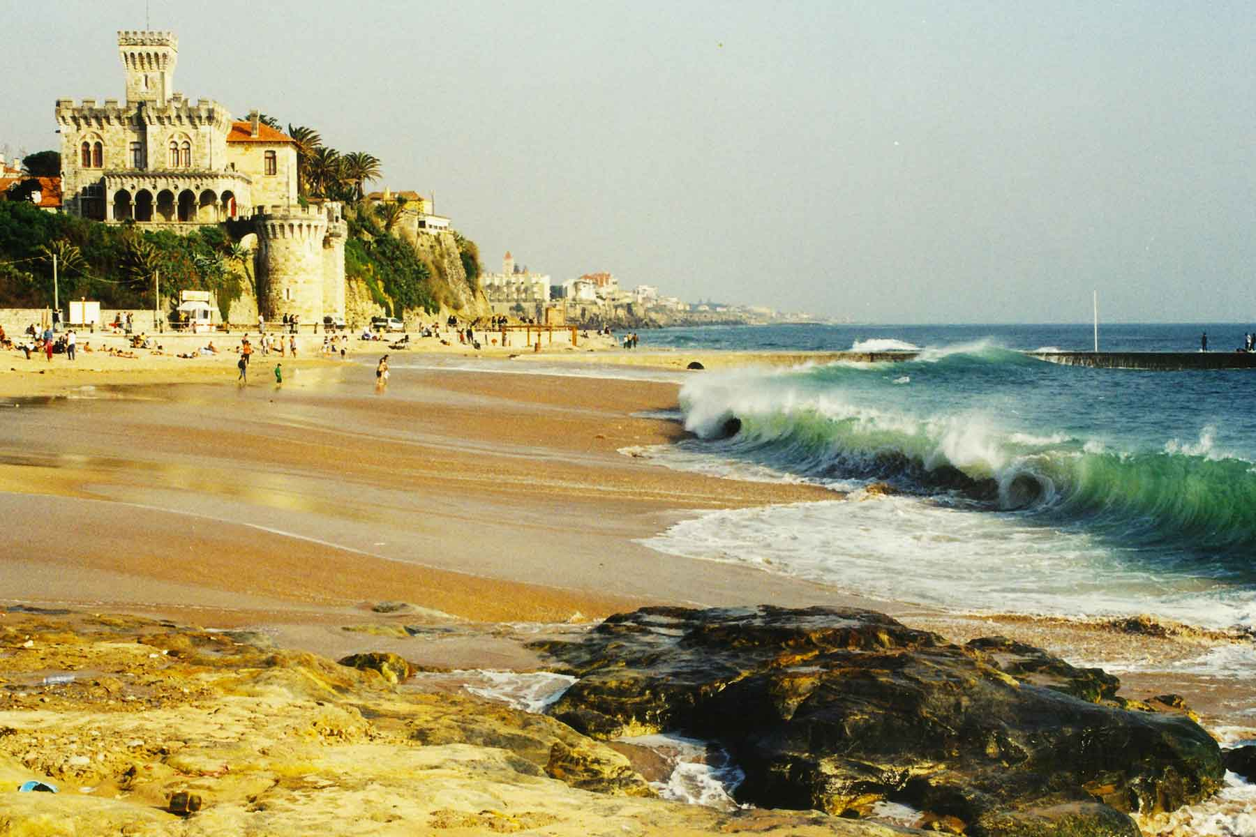 Lisbon Portugal - Surf Beach - Steven Andrew Martin - Photo Journal - Study Abroad 1998