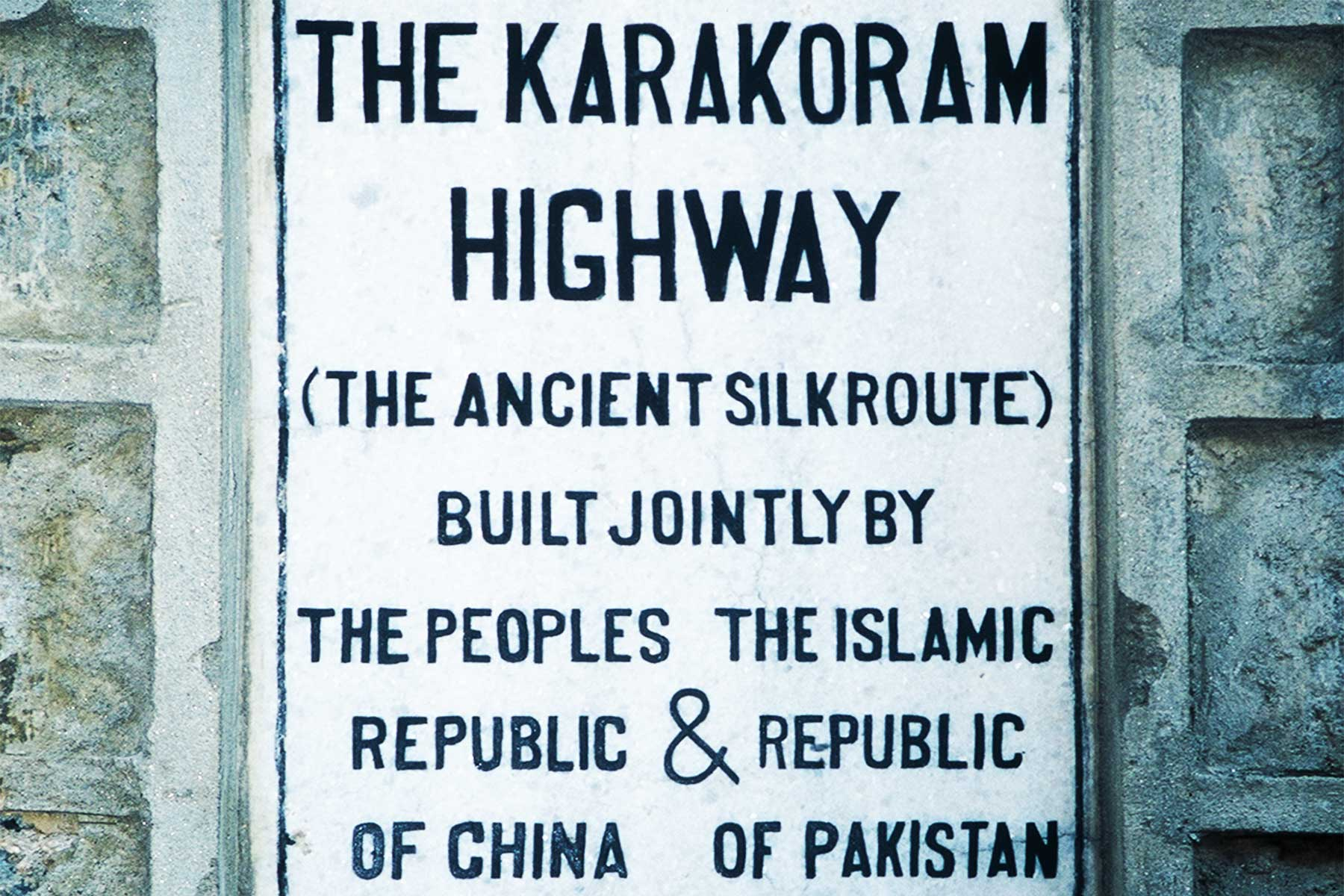 The Karakoram Highway - Ancient Silk Route - Islamic Republic Pakistan - Republic of China - Steven Martin