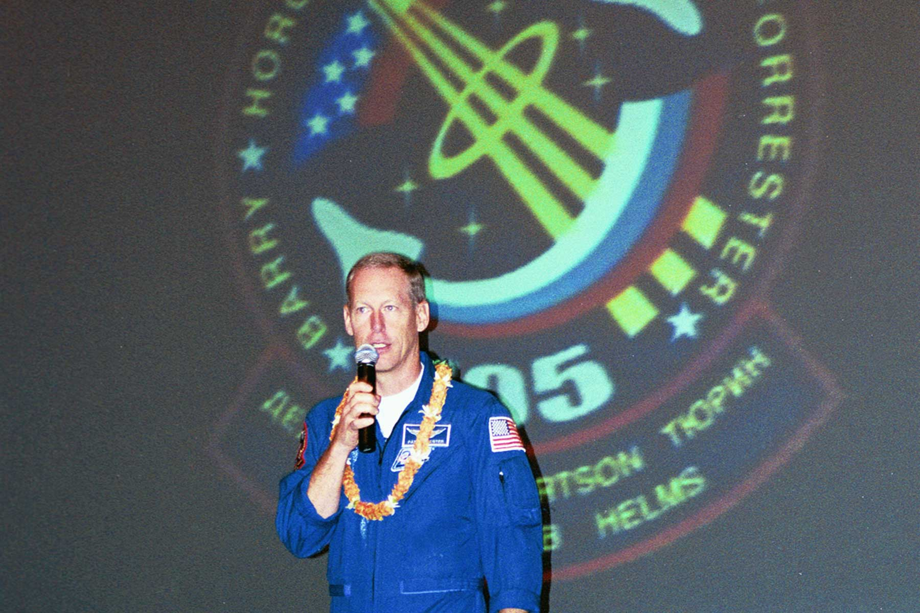 Mission Specialist Pat Forrester | Hawaii Preparatory Academy HPA | Astronaut Appearance Hawaii | Dr. Steven A. Martin