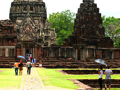 Khmer temple - Phimai Historical Park Thailand Photo Journal - Steven Andrew Martin