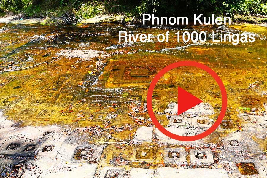 1000 Lingas - Phnom Kulen - Khmer Sacred Mountain - Steven Andrew Martin PhD