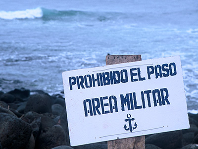 San Cristobal Galapagos Military Base - Surfing Waves - Steven Martin Photo Journal