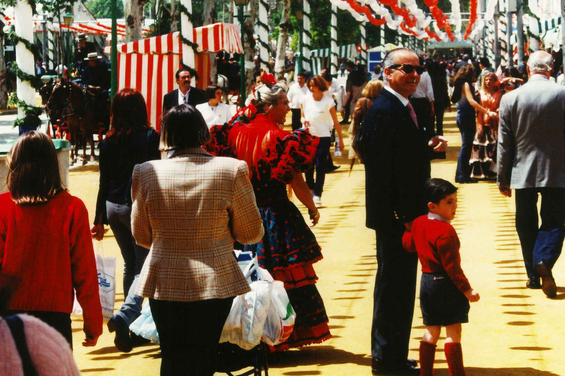 Seville Fair 1998 - Spain Photo Journal - Steven Andrew Martin - Study Abroad - College Consortium International Studies - CCIS